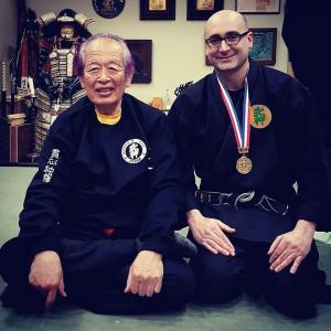 Medaglia d'oro del Bujinkan Dojo